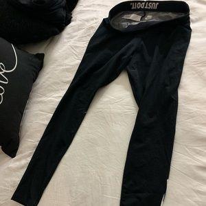 Nike dry fit workout pants dark grey